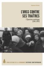L'URSS contre ses traîtres. Lépuration soviétique (1941-1955)
